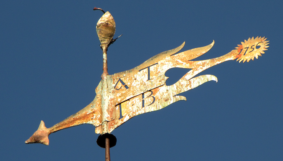 Friday February 20th (2009) weather vane