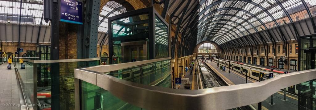 Saturday April 7th (2018) kings cross pano