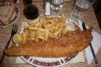 large cod and chips
