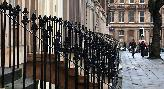 1st: rows of railings