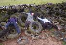 22nd: fun with tyres