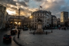 Tue 16th<br/>admiralty arch sunset